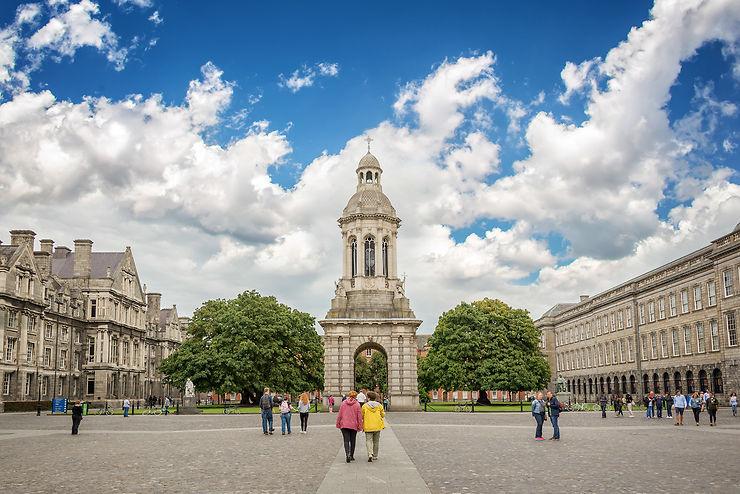 Le centre-ville de Dublin