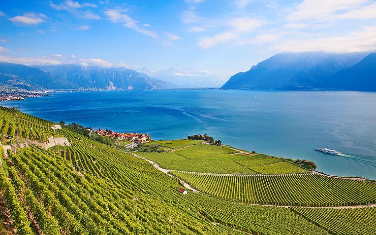 Lac Léman - Suisse, France