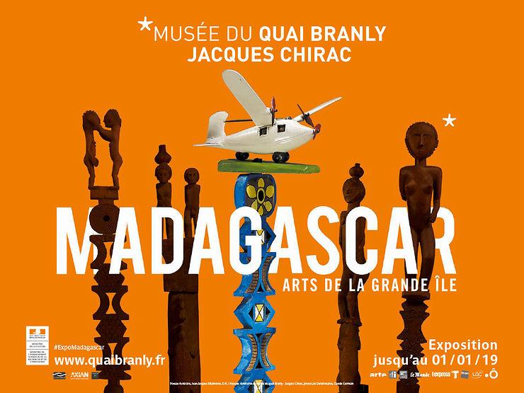 Madagascar. Arts de la Grande Île au musée du quai Branly – Jacques Chirac