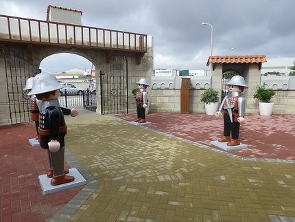 Gardes Playmobil à Malte