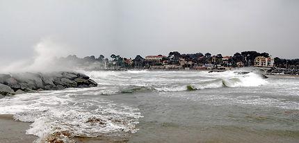 Coup de tabac sur la plage de la Galiotte