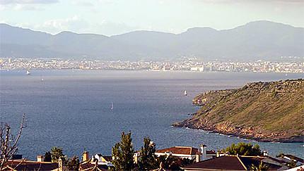 Baie de Palma vue de Bahia Azul (Llucmajor)