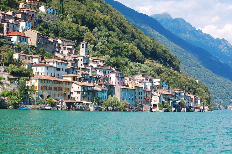 Lac de Lugano - Suisse, Italie