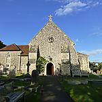 Eglise protestante à Rottingdean