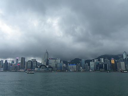Orage sur HK