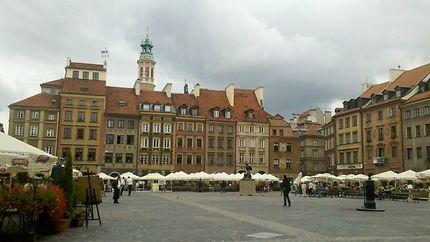La Place du Marché de la Vieille Ville à Varsovie