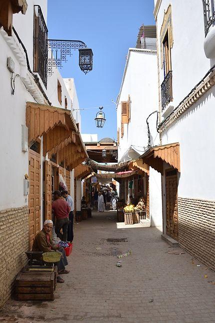Dans la Médina de Rabat... sans carte ni repère