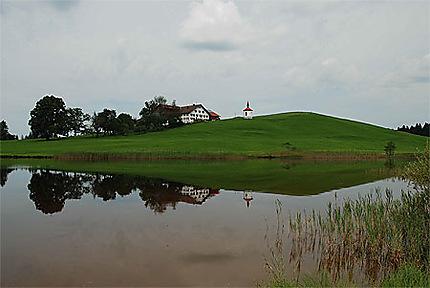 Un petit lac non loin de Schwangau