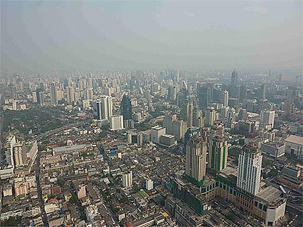 Bangkok depuis la Bayoke Tower