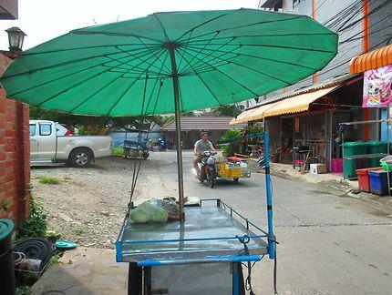 Scène de rue à Pattaya, Thaïlande