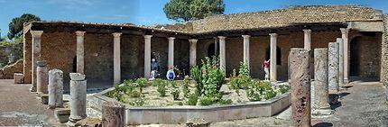 Impluvium de villa romaine