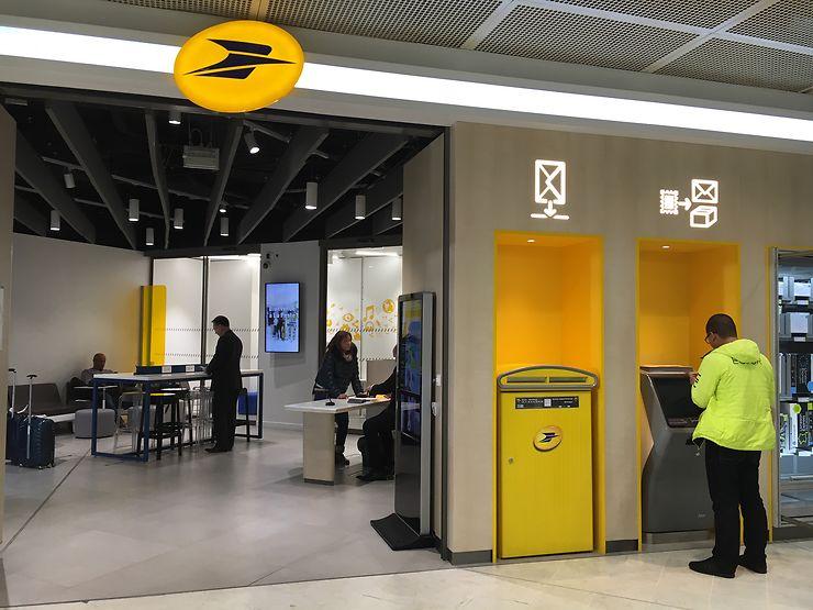 Île-de-France - De nouveaux bureaux de poste à Paris CDG et Orly