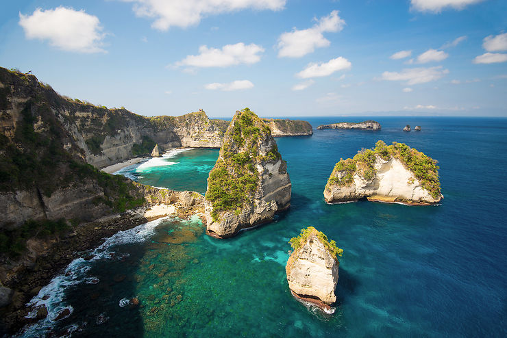 Le spectacle de la nature à Nusa Penida