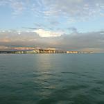Vue depuis le ferry (Newhaven)