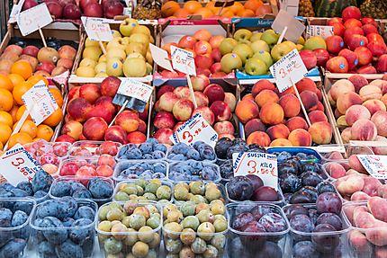 Fruits du marché... miam, miam...