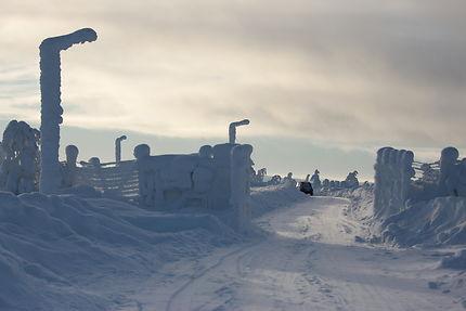 Route gelée en Laponie, Rovaniemi