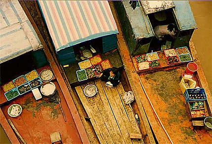 Petits bateaux du Yang Tse