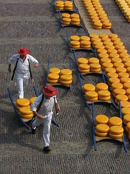 Alkmaar - Marché au fromage