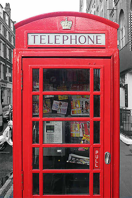 London public phone