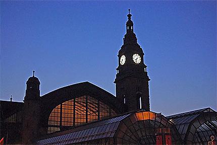 La gare de Hambourg