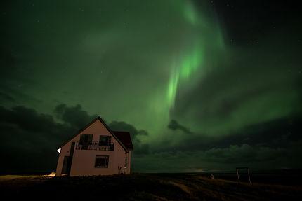 Aurore en Islande
