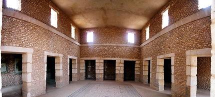 Cour de villa romaine