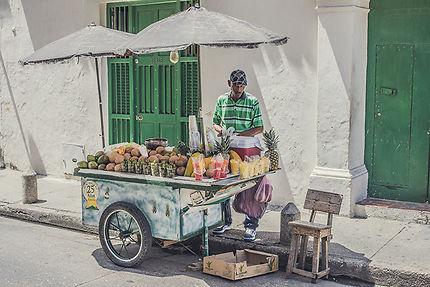 Colombie food, Carthagène des Indes