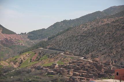 Village marocain à Asni