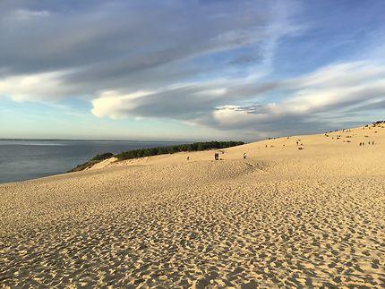 Douce après-midi d'octobre sur la grande Dune