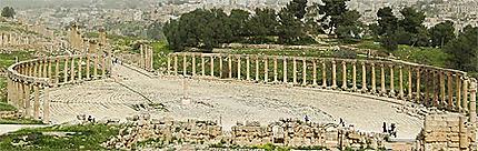 Jerash place ovale