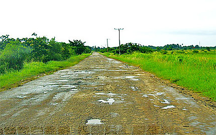 Etat des routes hors des sentiers battus