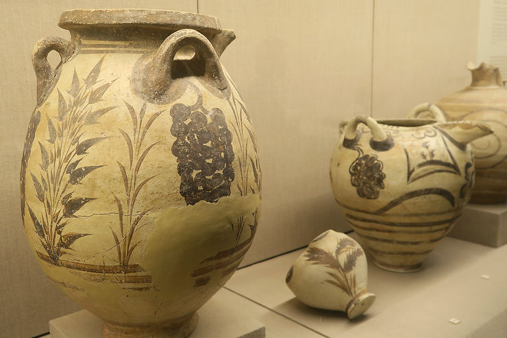 Les trésors du Musée préhistorique de Fira