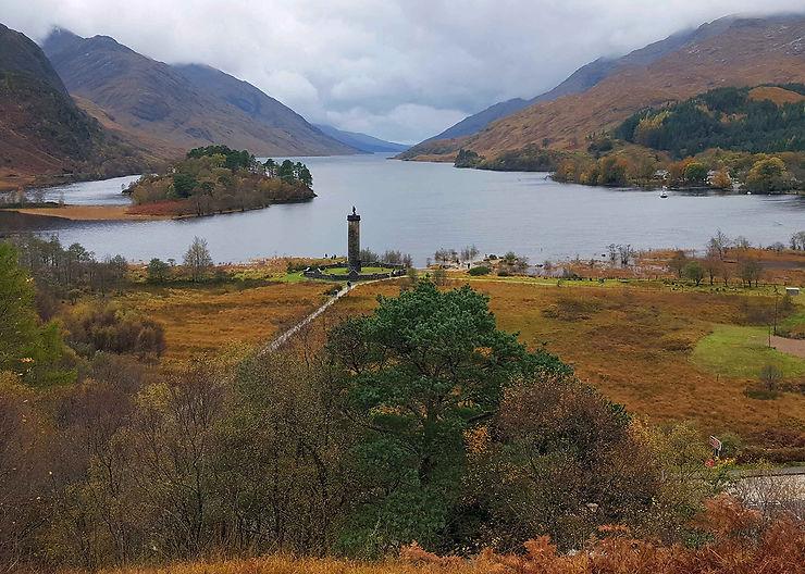 Les Highlands, où vivent les Animaux fantastiques