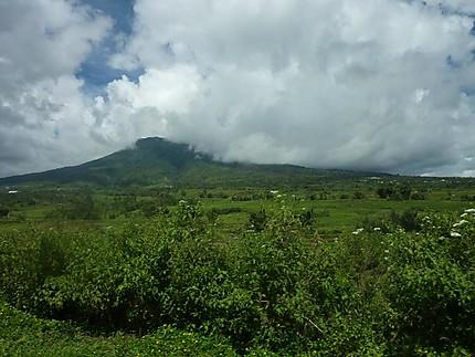 La campagne aux environs de Ruteng