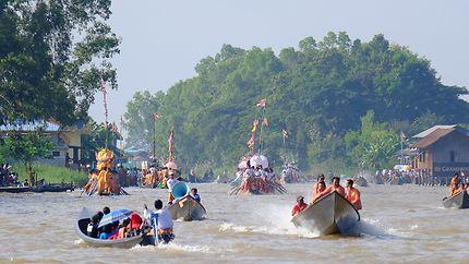 Festival du lac Inlé, Birmanie