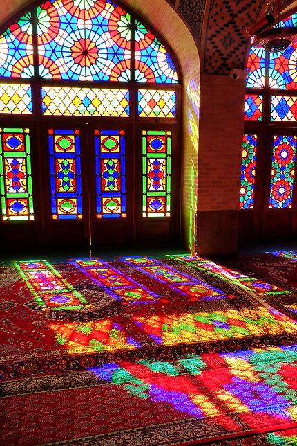 Reflets, Mosquée Nassir-ol-Molk, Iran