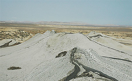 Région désertique au sud de baku