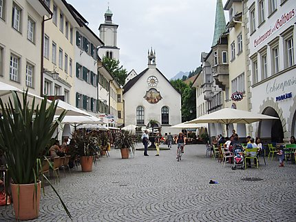 Etape à Feldkirch