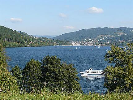 Lac de Gérardmer - Vue du bout du lac