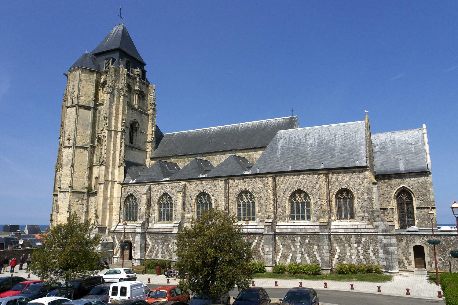 Eglise st jacques le tr port eglise glise saint jacques du tr port le tr port seine - Office du tourisme du treport ...