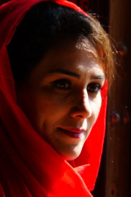 Portrait de femme à Shiraz, Iran