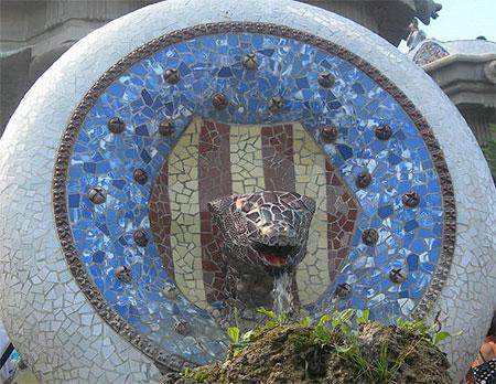 Cobra du parc Güell