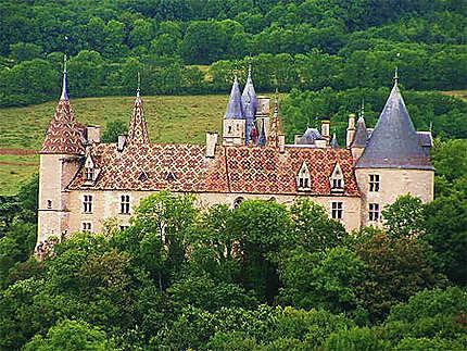 Château de La Rochepot en Côte d'Or
