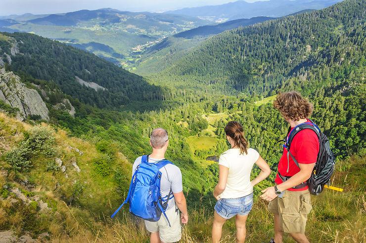 Les Hautes-Vosges, un territoire riche en sommets