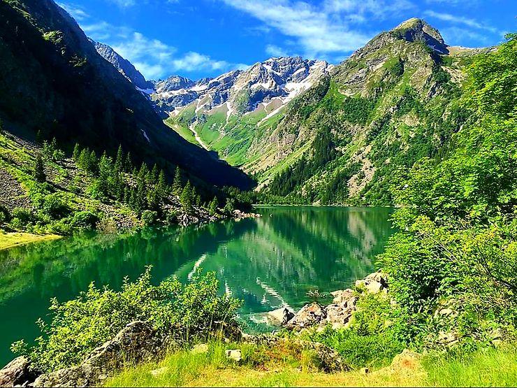 Lac du Lauvitel, Alpes
