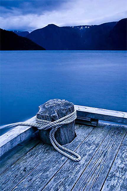 Ponton sur le SogneFjord