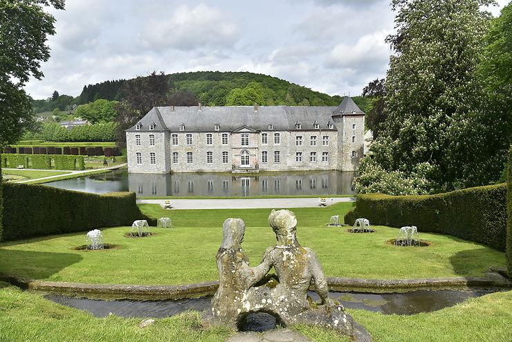 Châteaux et jardins de la vallée de la Meuse