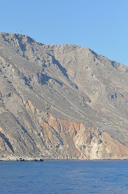 Falaises du sud de la Crète