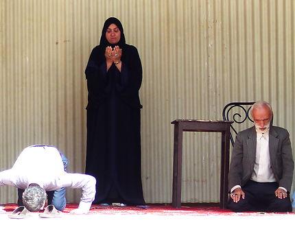 Jour de prières, Mosquée Vakil, Iran