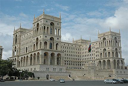 Bâtiment de Baku